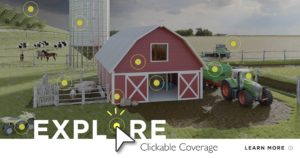 Clickable Coverage Farm