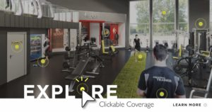 Clickable Coverage Fitness Center