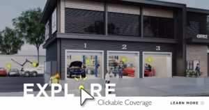 Clickable Coverage Garage Repair Shop