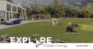 Clickable Coverage Golf Course