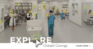 Clickable Coverage Medical Office